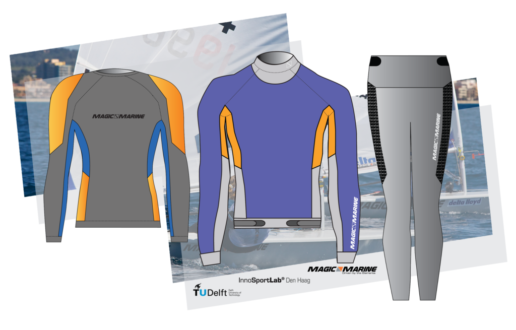 Sailing gear, optimized for thermal comfort