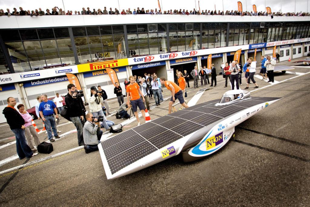 Nuna5 presented to press and guests at Circuit Park Zandvoort, 2009