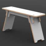 Slotted Bench